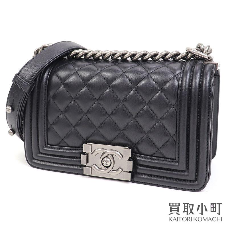 レディースバッグ, ショルダーバッグ・メッセンジャーバッグ 1OFF! 920 CHANEL A67085 26 Boy Chanel Small Flap Bag