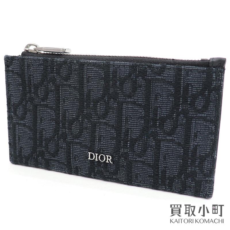 財布・ケース, メンズコインケース 3OFF! 515DIOR 2ESBC250YSEH03E CD Dior Oblique Card ho