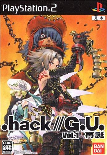 テレビゲーム, その他 .hackG.U. Vol.1