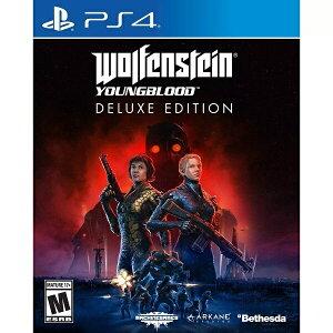 ゲームソフト【 Wolfenstein: Youngblood Deluxe Edition ウルフェンシュタイン : ヤングブラッド デラックスエディション / シューター ゲーム / 北米版 対応機:PS4 / Xbox One 】