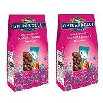 イースター限定【Ghirardelli/ギラデリイースターミルクチョコレートシーソルトキャラメルバニー/4.1oz(117.6g)2袋】