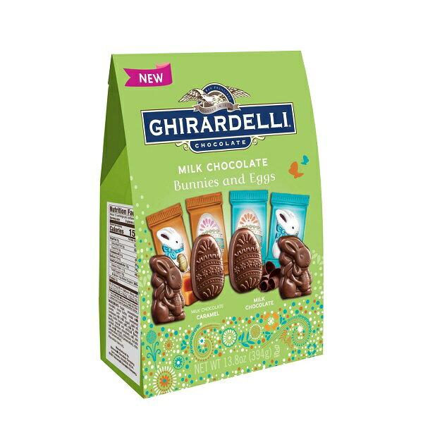 イースター 限定 【 Ghirardelli / ギラデリ イースター ミルク チョコレート バニー & エッグ / 13.8oz(394g) 】