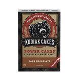 パワーケーキ ダークチョコレート味 フラップジャック & ワッフル ミックス 510g / 1lb 2oz Kodiak Cakes コディアック ケークス
