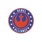 Loungefly【ラウンジフライ Star Wars スターウォーズ ワッペン 反乱同盟軍 REBEL ALLIANCE ロゴ 丸 ブルー×オレンジ】