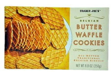 TraderJoe's【トレーダージョーズバターワッフルクッキー8.8oz(250g)】BelgianButterWaffleCookies