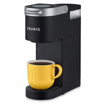 KEURIG 【キューリグ / 家庭用 コーヒーメーカー K-ミニ ブラック / K-Mini Single Serve K-Cup Pod Coffee Maker】