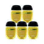 5個セット ハンド サニタイザー サンシャイン アンド レモン バス&ボディーワークス Bath & Body Works