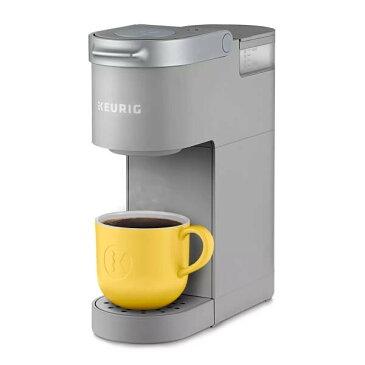 KEURIG 【キューリグ / 家庭用 コーヒーメーカー K-ミニ グレー / K-Mini Single Serve K-Cup Pod Coffee Maker】
