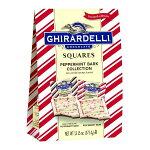 ギラデリクリスマス限定スクエアチョコレートペパーミントバークミルクチョコダークチョコXLバッグ13.15oz(373.4g)Ghirardelli