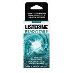 リステリン口臭予防タブレットレディータブチューワブルクリーンミント味8粒入り3枚Listerine