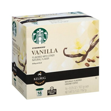 KEURIG K-Cup【キューリグ用 K-Cup Starbucks バニラ フレーバー コーヒー 16カップ入り】