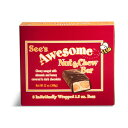 See's Candies【シーズキャンディー Awesome Nut&Chew Bar チュウイーなナッツ&チョコレートバー 8本セット】