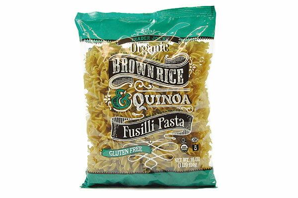 Trader Joe's【トレーダージョーズ オーガニック ブラウンライス(玄米) キヌア フジッリ パスタ 454g(16oz)】Organic Brown Rice Quinoa Fusilli Pasta