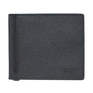 559c223d6e69 コーチ 財布 F23847-BLK COACH メンズ 二つ折り 札入れ マネークリップ ビルフォールド クロスグレインレザー