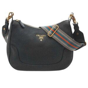 [300 yen OFF coupon] Prada Bag 1BC052 PRADA Shoulder Bag VITELLO PHENIX NERO Nero Calf Black Outlet