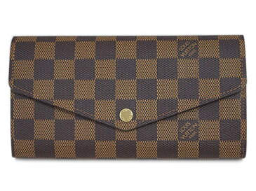 ルイヴィトン 財布 N63209 LOUIS VUITTON ヴィトン ダミエ LV 長財布 ファスナー長札 ポルトフォイユ・サラ 新型 専用箱付き キャッシュレスで5%還元!