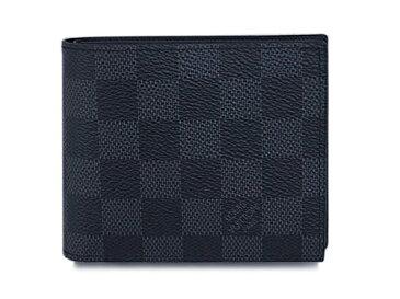 ルイヴィトン 財布 N63336 LOUIS VUITTON ヴィトン LV ダミエ・グラフィット メンズ 二つ折り小銭入れ付き財布 ポルトフォイユ・マルコ NM2 専用箱付き キャッシュレスで5%還元!