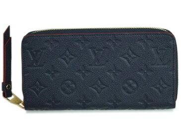 ルイヴィトン 財布 M62121 LOUIS VUITTON ヴィトン モノグラム・アンプラント LV ラウンドファスナー長財布 ジッピー・ウォレット マリーヌルージュ 専用箱付き キャッシュレスで5%還元!