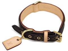 ルイヴィトン ルイ・ヴィトン モノグラム LV 中型犬用首輪 コリエ・バクスターMM M58071 【あす楽対応】【smtb-k】【w2】【YDKG-tk】【楽ギフ_包装】【RCP】