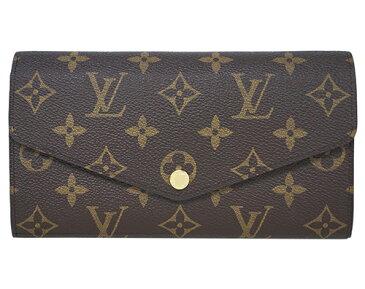 ルイヴィトン 財布 M62234 LOUIS VUITTON ヴィトン LV モノグラム ファスナー長札 ポルトフォイユ・サラ フューシャ 専用箱付き キャッシュレスで5%還元!
