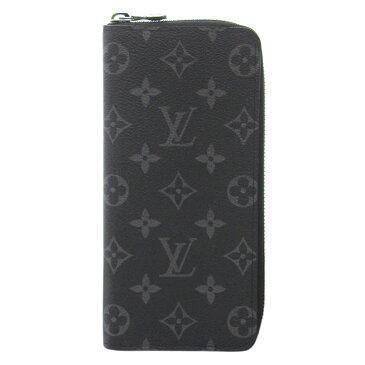 ルイヴィトン 財布 M62295 LOUIS VUITTON ヴィトン モノグラム・エクリプス LV メンズ ラウンドファスナー長財布 ジッピーウォレット・ヴェルティカル 新型 専用箱付き キャッシュレスで5%還元!