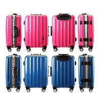 レーム式小型量産先上品/スーツケース/機内持ち込み/軽量/TSAロック