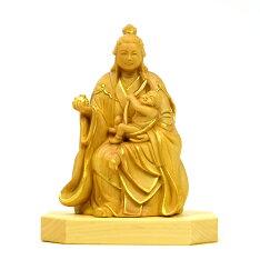 小仏シリーズ訶梨帝母(鬼子母神)倚像高9cm