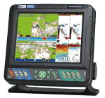 ホンデックスHE-8S8.4型GPSデジタル魚探アンテナ内蔵タイプ