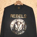 WHOLENINE [ホールナイン] ロンTWNLST006-HS16 REBELS LONG SLEEVE T-SHIRTS