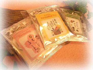 ごあいさつ紅茶(単品)【御礼】【プチギフト】【感謝】【ダージリンティ】