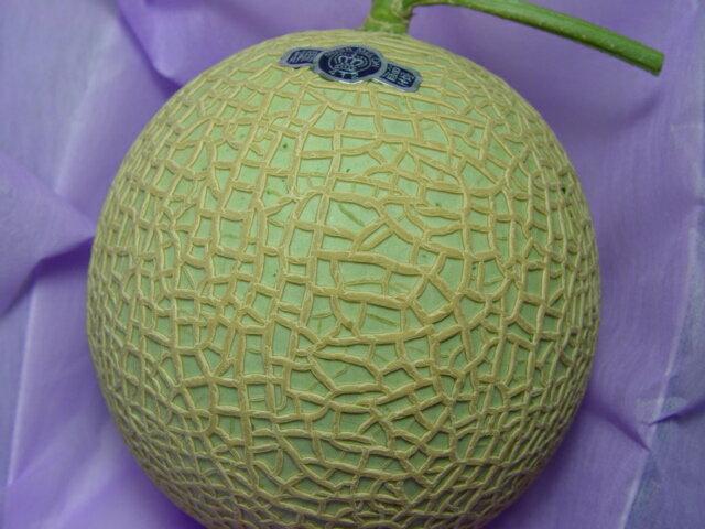 送料無料 静岡県産クラウン マスクメロン 大玉(化粧箱入り)日本最高の温室栽培技術で育てられた逸品! お歳暮ギフトにおすすめ 【#元気いただきますプロジェクト】