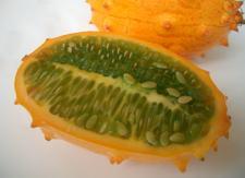 *キワノ2玉珍しい!色・形・味!珍しいフルーツ