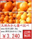 お歳暮ギフト九州みかん食べ比べ2.5kg(伊木力みかん)(紅まるくん)送料無料¥3,240