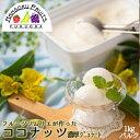 【送料無料】ココナッツ 濃厚ジェラート1,000mlバルク