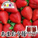 【送料無料】福岡産 あまおう苺 デラックス 2パック