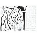 ウォールステッカーSS Cat&Tree【家具 ウォールステッカー インテリア】【アンドグラッド】