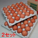 花たまご (50個)×2セット 一部地域を除き【送料無料】 卵 玉子 タマゴ たまご 鶏卵 赤殻 赤がら 新鮮 産みたて 産直 産地直送 Non-GMO ノンGMO ポストハーベストフリー PHF こだわりの飼料 安心 安全 卵かけごはん たまごかけごはん