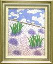 福田平八郎 絵画 花の習作 送料無料 【複製】【美術印刷】【巨匠】【変型特寸】
