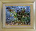 デュフィ 絵画 ル・アーヴルの水の祭 P10号 送料無料 【複製】【美術印刷】【世界の名画】【10号】