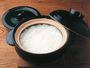 【土鍋】【送料無料】【<炊飯用伊賀焼>かまどさん 三合炊き美味しいごはんを炊くための秘密兵...