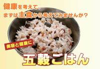 雑穀・雑穀米コシヒカリ五穀ごはん