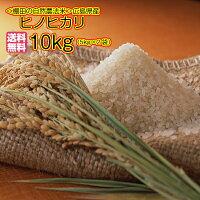 送料無料広島県産ヒノヒカリ10kg5kg×2