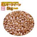 送料無料 広島県産ミルキークイーン 5kg 玄米 新米 金色袋当社高級米 令和2年産 1等米