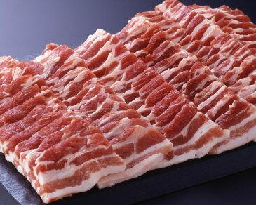 《沖縄県産》あぐー豚 (バラ)焼肉用 1,000g(CT) 012578