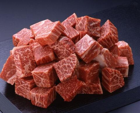 【柿安 特別キャンペーン】《国内産》黒毛和牛 赤身 ステーキ切り落とし 300g (CT) 90151