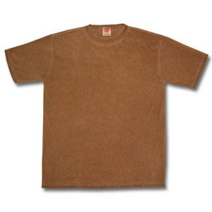 Hemp cotton persimmon juice dyeing plain fabric T-shirt