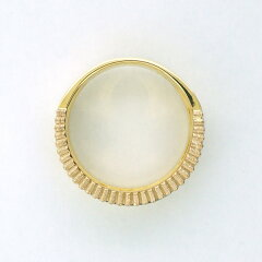 ニナリッチリング指輪K18ゴールドプラチナダイヤモンド
