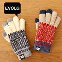 エヴォログ EVOLG FLEUR スマホ用 スマホ手袋 タッチグローブ スマホ 手袋 フリー レディース ...