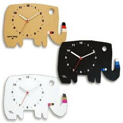 【送料無料】掛け時計 五味太郎 クロック ゾウ【壁掛け時計 壁掛け 時計 おしゃれ キッズ 子…