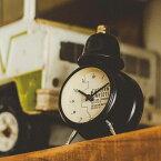 置き時計 目覚まし時計 イースタン タイム インターフォルム interform cl-1477 ステップ ムーブメント【置時計 置き時計 ベル アラーム クロック 子供 北欧 レトロ シンプル 男前 かわいい おしゃれ 結婚祝い ギフト 入学祝い プレゼント 彼女 彼氏】